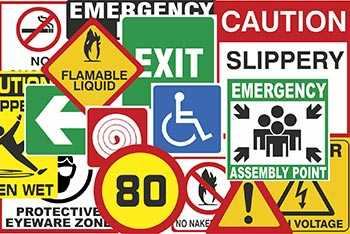 353ad8d04db Safety Stickers. Digitally printed full colour Vinyl cut ...